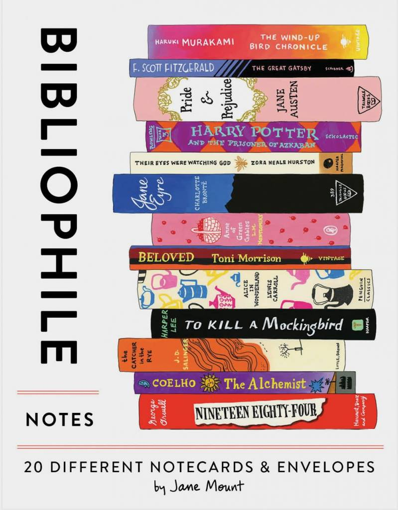 Chronicle Books Bibliophile Notes