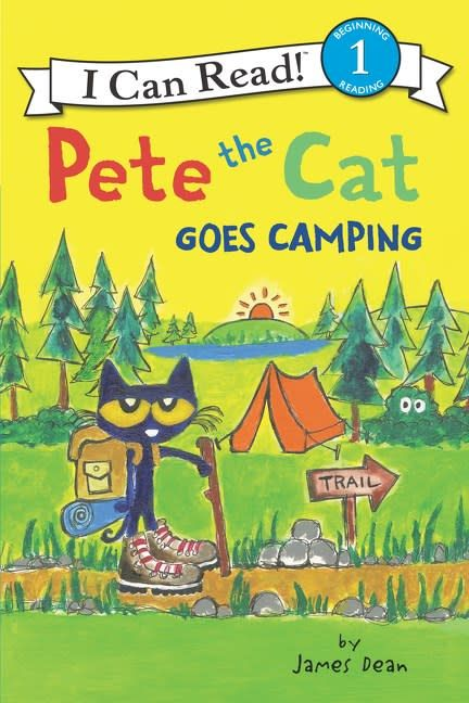 HarperCollins Pete the Cat Goes Camping