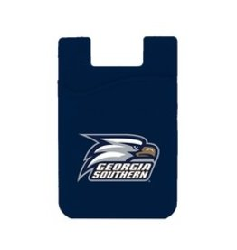 Logo Wallet Silicone Card Holder - Dark Blue