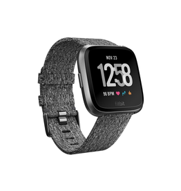 Fitbit Fitbit Versa Watch Special Edition - Charcoal Woven/Graphite