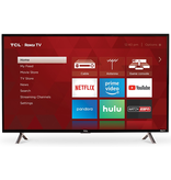"TCL TCL 40"" HD TV with Roku 1080p"