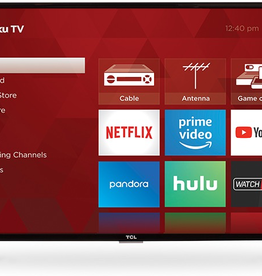 """TCL TCL 40"""" HD TV with Roku 1080p"""