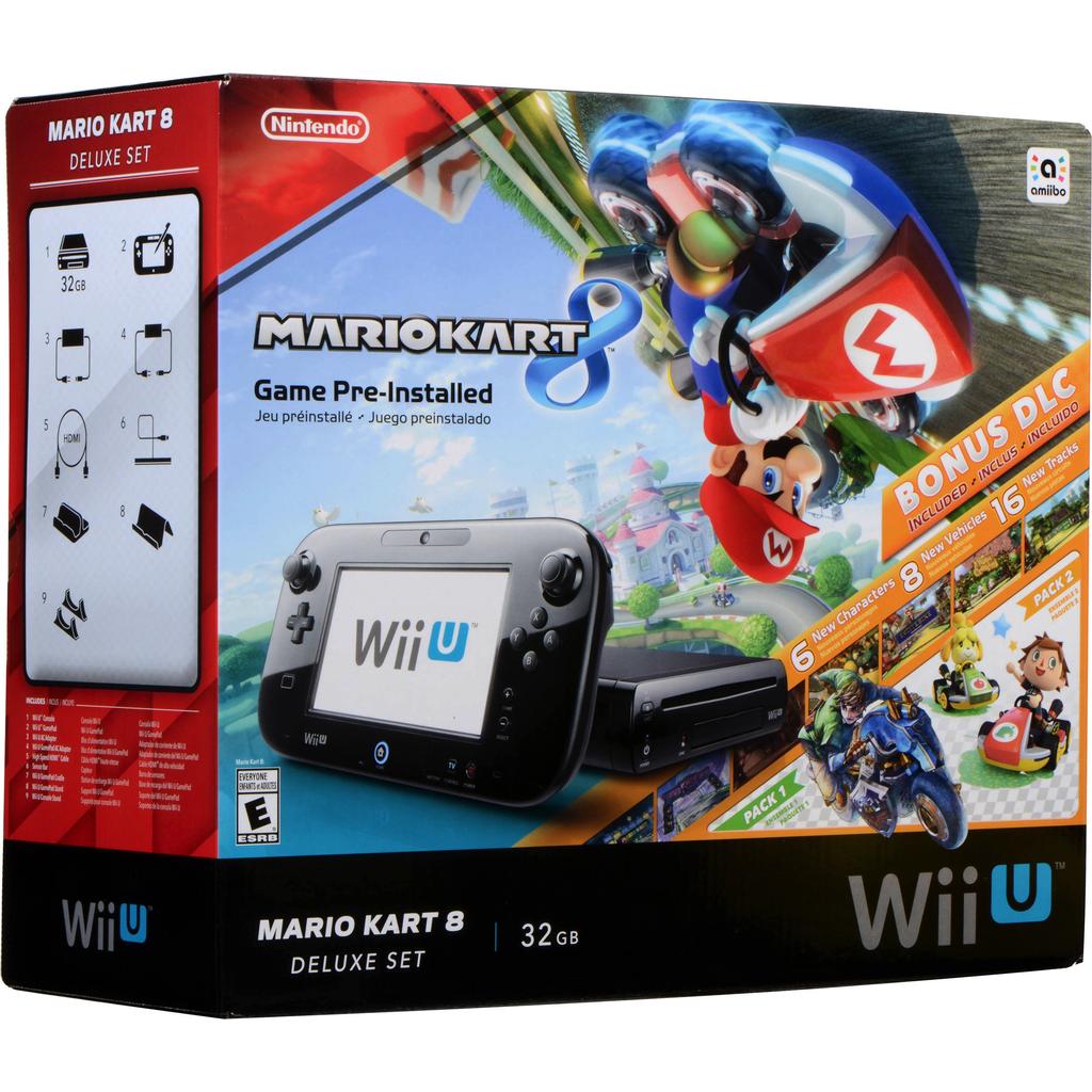 Nintendo Wii U Mario Kart 8 Deluxe Set