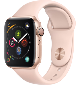 Apple MU682LL/A Apple Watch S4 40MM - Gold/Pink Sport Band