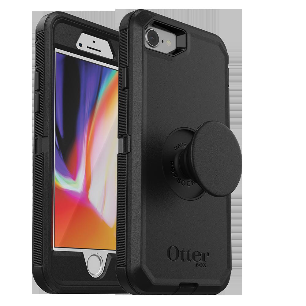 Otter Box OtterBox Pop Defender for iPhone 8 - Black