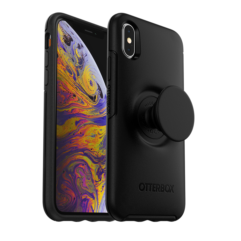 Otter Box OtterBox Pop Symmetry for iPhone Xs - Black