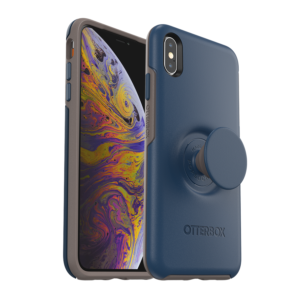 Otter Box OtterBox Pop Symmetry for iPhone Xs - Blue