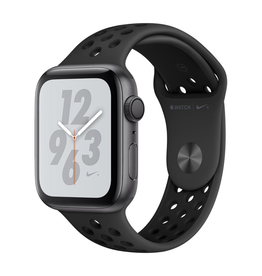 Apple MU6L2LL/A Apple Watch S4 Nike+ 44MM - Anthracite/Black Nike Sport Band