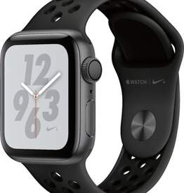 Apple MU6J2LL/A Apple Watch S4 Nike+ 40MM - Space Gray/Black