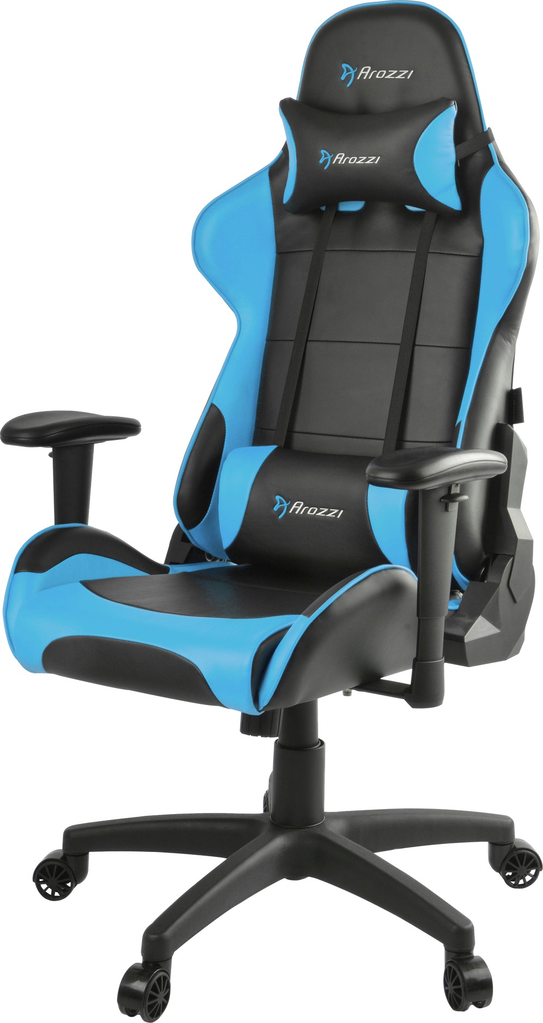 Admirable Arozzi Arrozi Verona V2 Advanced Gaming Chair Blue Uwap Interior Chair Design Uwaporg
