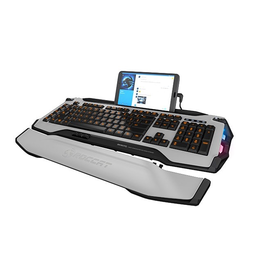 ROCCAT ROCCAT Skeltr Grey Smart Communication Gaming Keyboard
