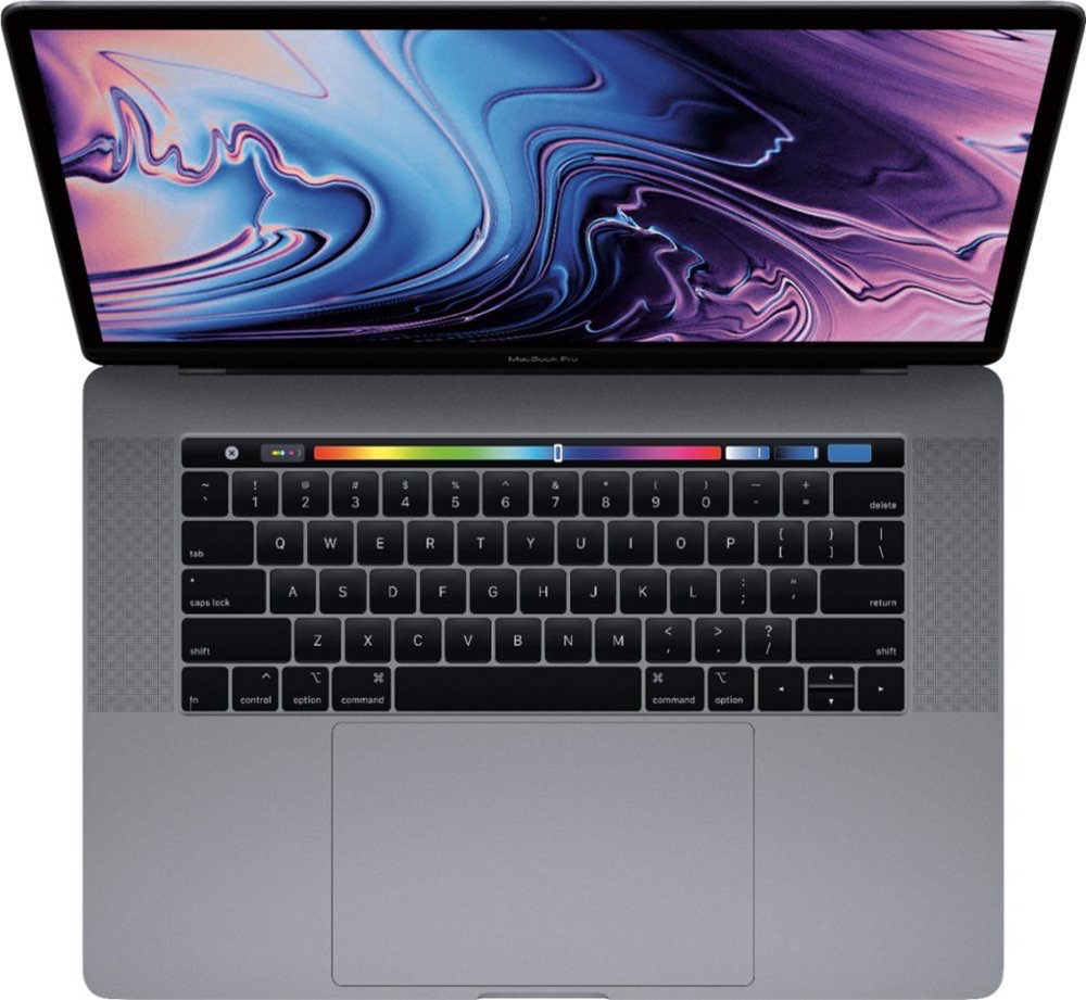"MV912LL/A MacBook Pro 15.4"" <br /> 2.3 GHz i9/16GB/512GB SSD - Space Gray w/ Touch Bar"