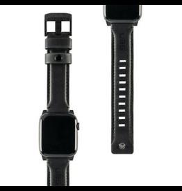 UAG UAG Apple Watch 42/44 BlackLeather Watch Band