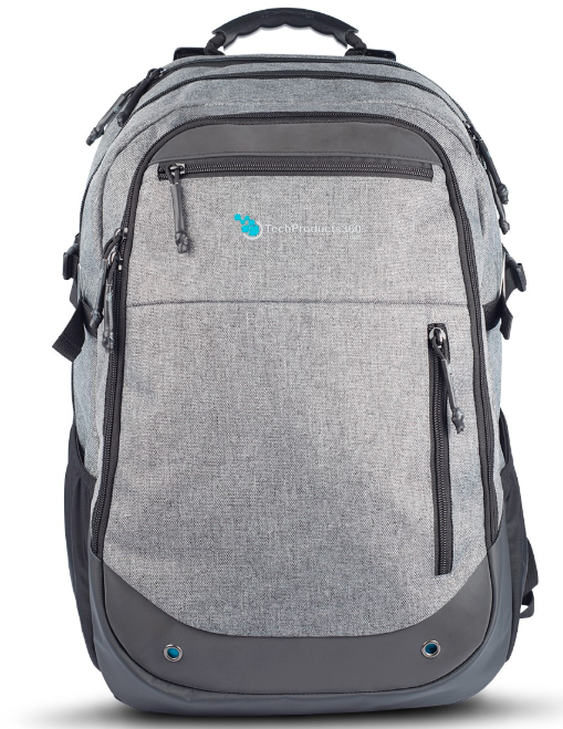 Tech Products 360 Tech Products 360 Quad Backpack - Gray