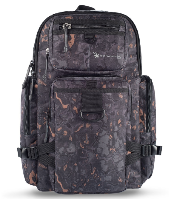 Tech Products 360 Tech Products 360 Ruck Backpack - Camo