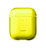 LAUT LAUT Crystal Airpod case - Acid Yellow