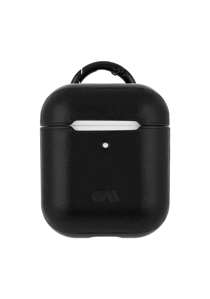 CaseMate Case-Mate Hook UPS Leather<br /> AirPod Case - Black