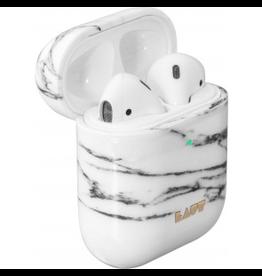 LAUT LAUT HUEX Airpod Case - Marble White