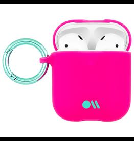 CaseMate Case-Mate Hook Ups Neon AirPod Case - Fuchsia