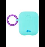 CaseMate Case-Mate Hook UPS Neon AirPod Case - Aqua