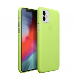 LAUT LAUT Slimskin iPhone 11 - Acid Yellow