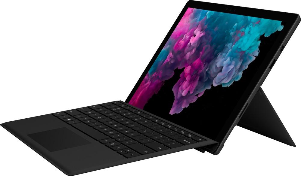 "Microsoft Microsoft Surface Pro 6 Bundle w/ Type Cover 12.3"" i7/8GB/256GB - Black"