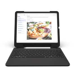 ZAGG ZAGG Slim Book Go BT Case/Keyboard iPad 12.9  (2018) - Black