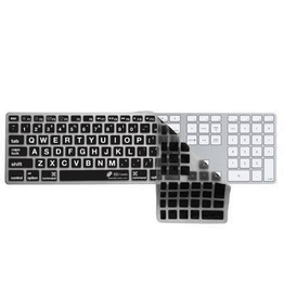 KB Covers KB Covers Large Type keyboard cover for Apple ultra-thin keyboard w/ numeric keypad