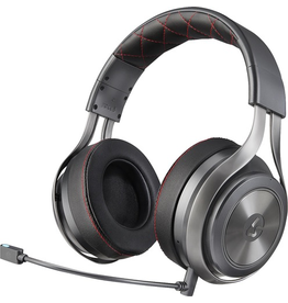 Lucid Lucid LS40 Wireless DTS Surround Gaming Headset - Black