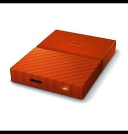 Western Digital WD My Passport 2 USB 3.0 2TB External Hard Drive - Orange