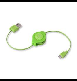 ReTrak ReTrak Micro-USB Cable Green