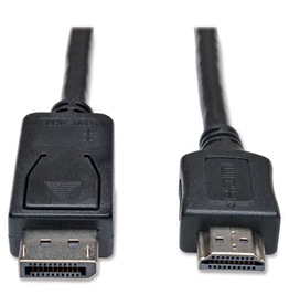 Tripp Lite DisplayPort to HDMI Adapter Cable Video / Audio Cable - 6FT