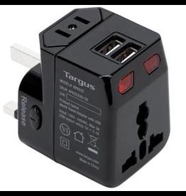 Targus Travel Adapter w/dual USB