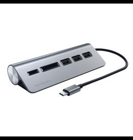 Satechi Satechi USB-C Hub [SD Card reader, 3xUSB-A] - Space Gray