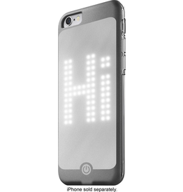 NORTH North LED Case for Apple iPhone 6/6s - Silver