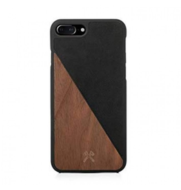 Woodcessories Woodcessories EcoCase for iPhone 7/8 Plus - Walnut/Black Leather