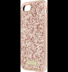 Kate Spade New York Kate Spade Glitter Case w/ Bumper for iPhone 7 - Exposed Glitter Rose Gold