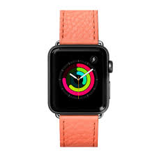 LAUT LAUT Milano Apple Watch Band - Coral 42/44 mm