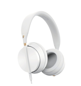 Plugged Crown Series Headphones - White