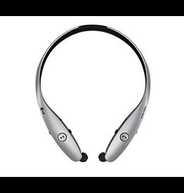 LG LG Tone Infinim Premium BT Neckband Earbuds - Metallic Silver