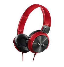 Philips Philips Headphones - Red