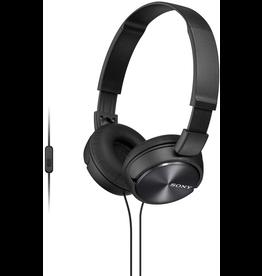Sony Sony Stereo Headphones w/ Mic - Black