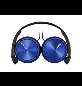 Sony Sony Stereo Headphones w/ Mic - Blue