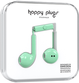 HappyPlugs Happy Plugs Earbuds Plus w/ Mic - Mint
