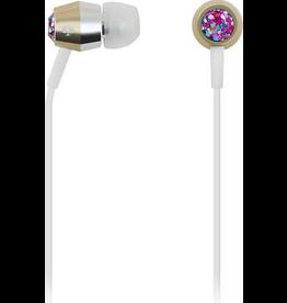 Kate Spade New York Kate Spade Earbuds - Multi Glitter/Gold/Silver