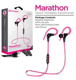 HyperGear HyperGear Marathon Sport Wireless Earbuds - Pink