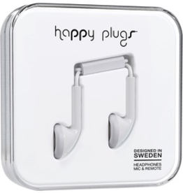 HappyPlugs Happy Plugs Earbuds - White