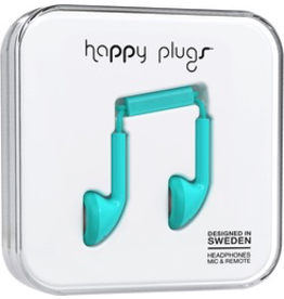HappyPlugs Happy Plugs Earbuds - Turquoise