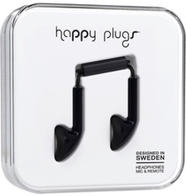 HappyPlugs Happy Plugs Earbuds - Black