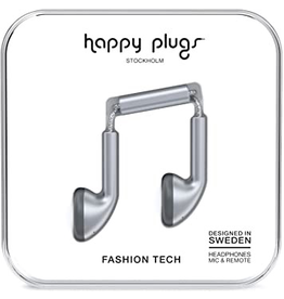 HappyPlugs Happy Plugs Earbuds - Space Gray
